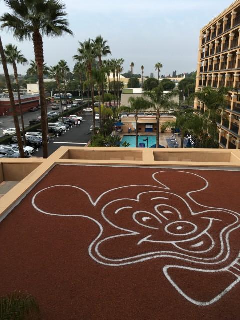 Fairfield Inn Disneyland Resort area