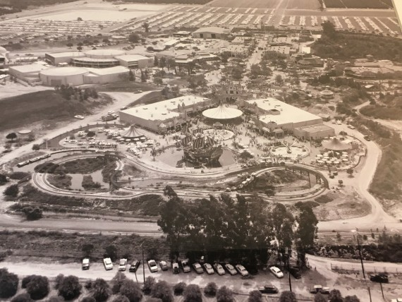 Disneyland construction photo