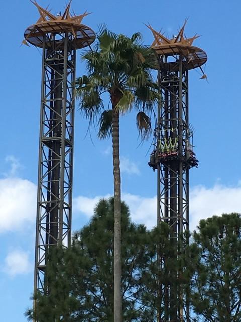 Universal Studios thrill ride