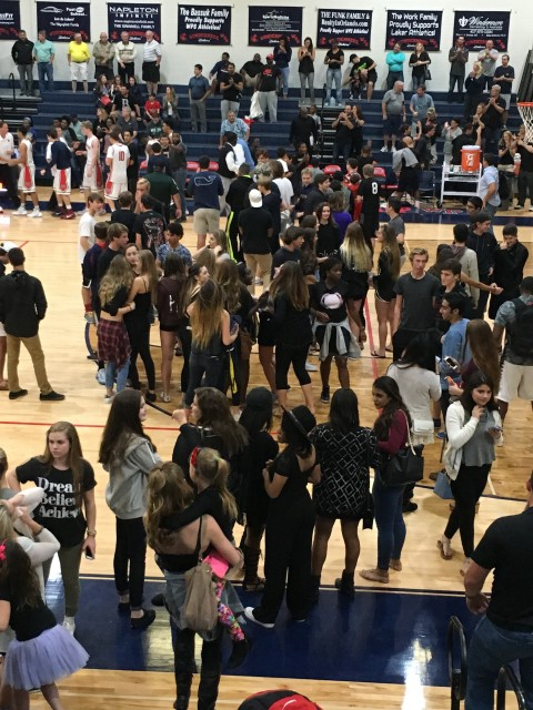 High School basketball playoffs