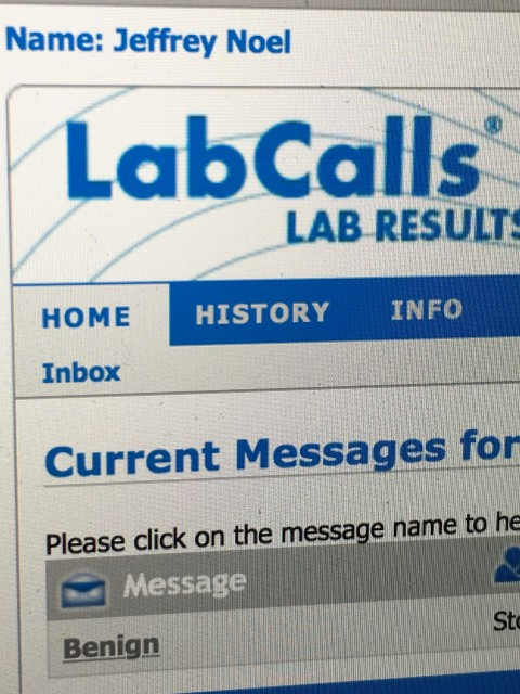 Lab Calls test results