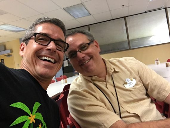 Two former Disney Institute Facilitators