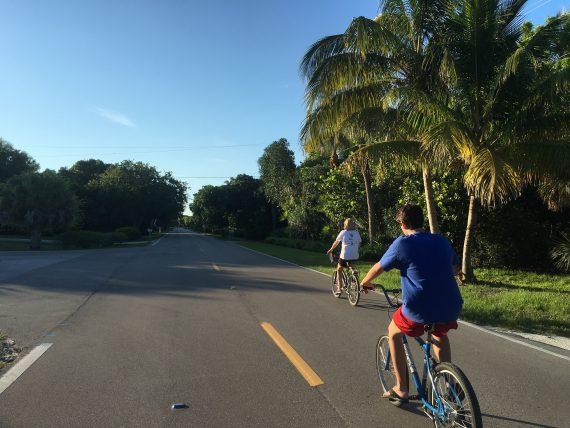 Biking on Sanibel