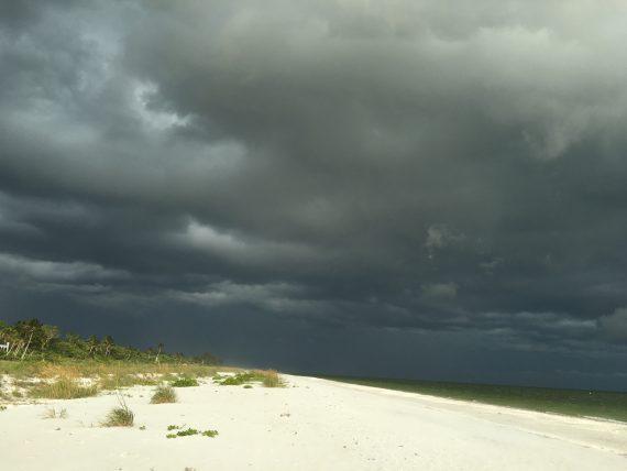 Sanibel Island thunderstorm