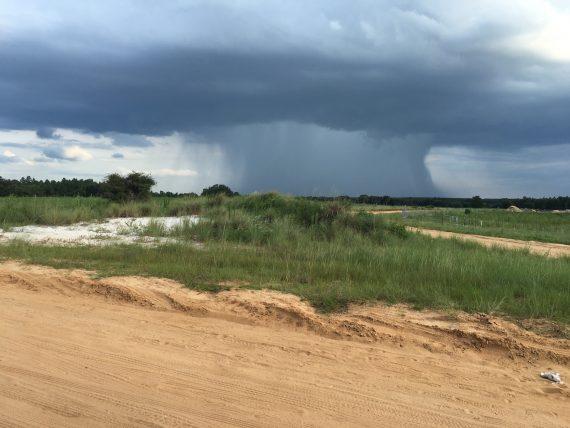Central Florida thunderstorm