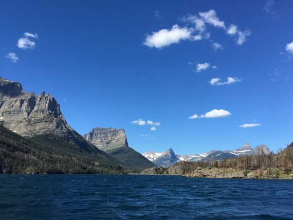 St Mary Lake boat trip