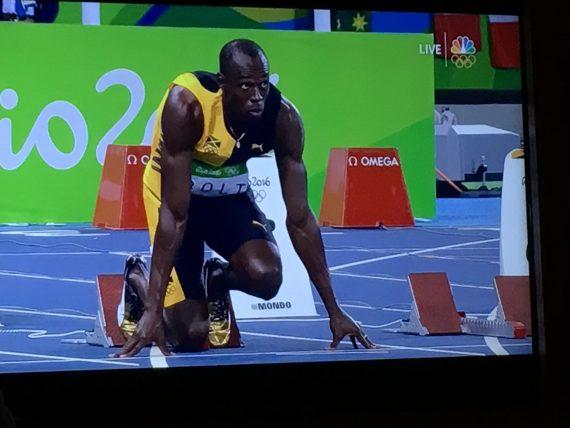 Rio Men's 100 meter final
