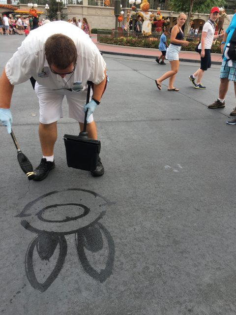 Disney Custodial water character drawings