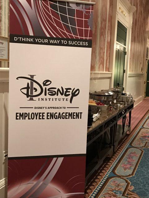Disney Institute Engagement class