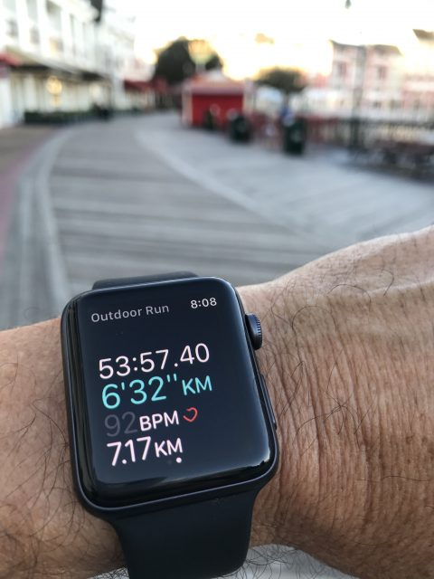 Apple Watch 2 exercise app