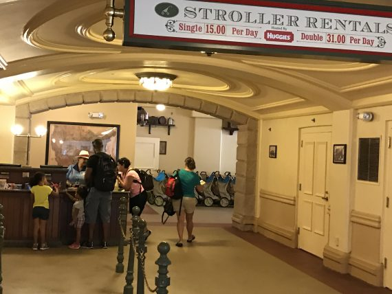 Magic Kingdom stroller rental