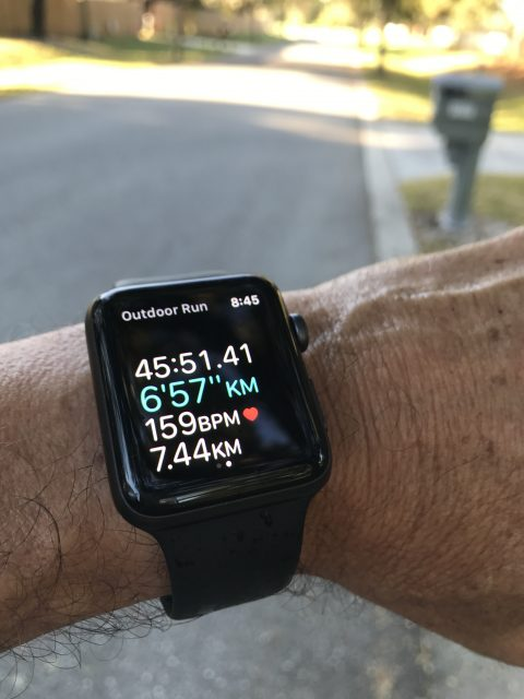 Apple watch running app