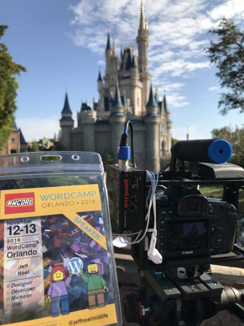 Cinderella Castle and wordpress