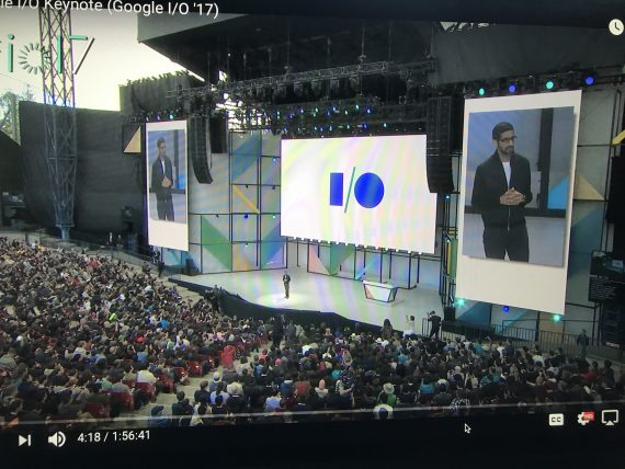 Google annual keynote