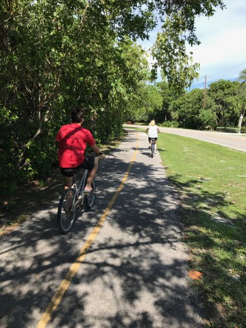Biking Sanibel Island