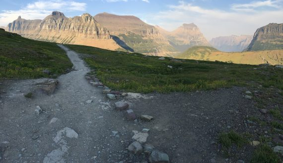 Glacier National Park trails