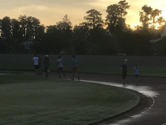 High school running club