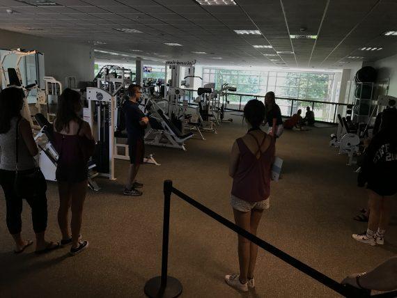 Bryant University wellness center