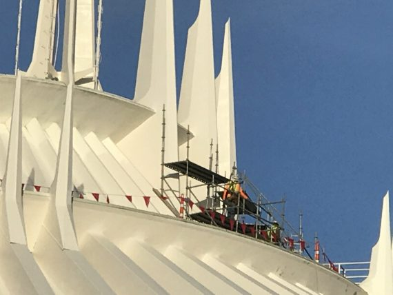 Space Mountain rehab
