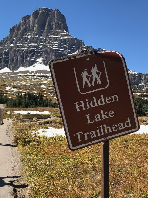 Hidden Lake Trail in September
