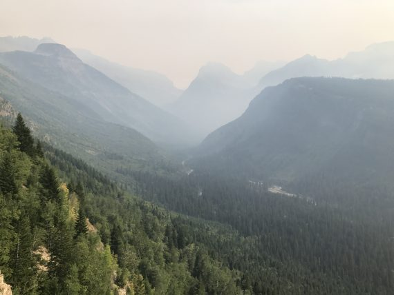 Smokey Glacier National Park 2017