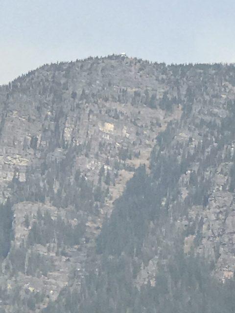 Lake McDonald Lodge fire 2017