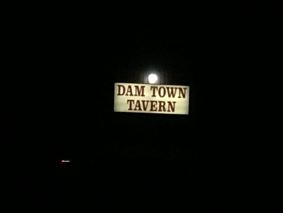 Hungry Horse Dam Town Tavern sign