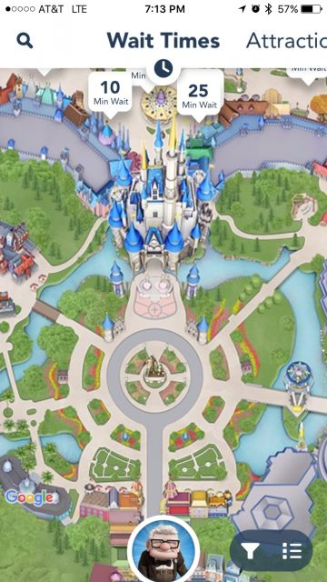 Magic Kingdom app