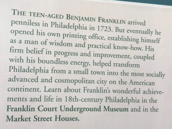 Ben Franklin summary
