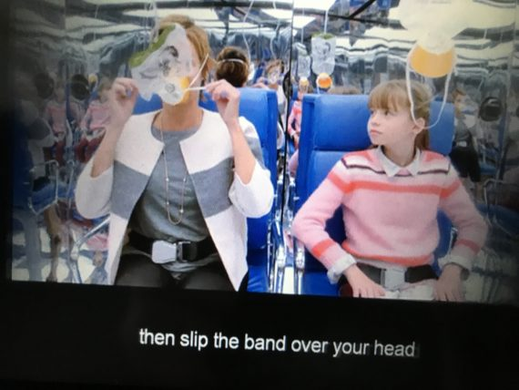 airplane oxygen masks