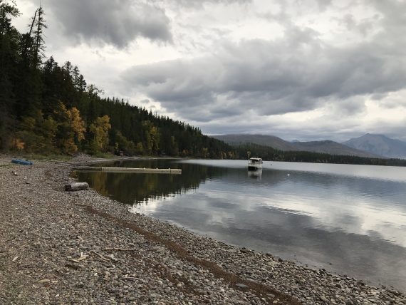 Lake McDonald Boat House views