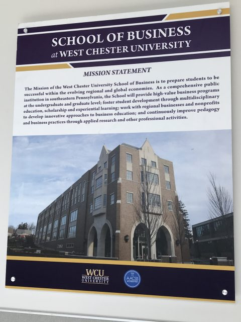 West Chester University Business school