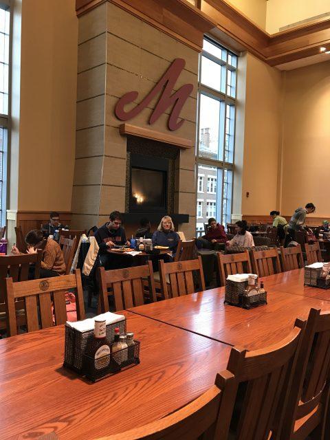 Muhlenberg College dining