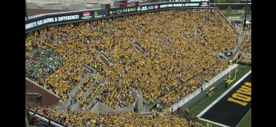 Iowa Football stadium