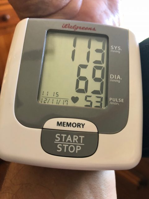 home blood pressure monitor