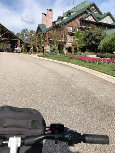 Disney's Wilderness Lodge entrance
