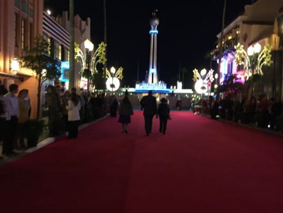 Red Carpet for Cast Members only