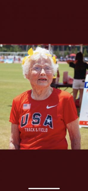 102 year old runner