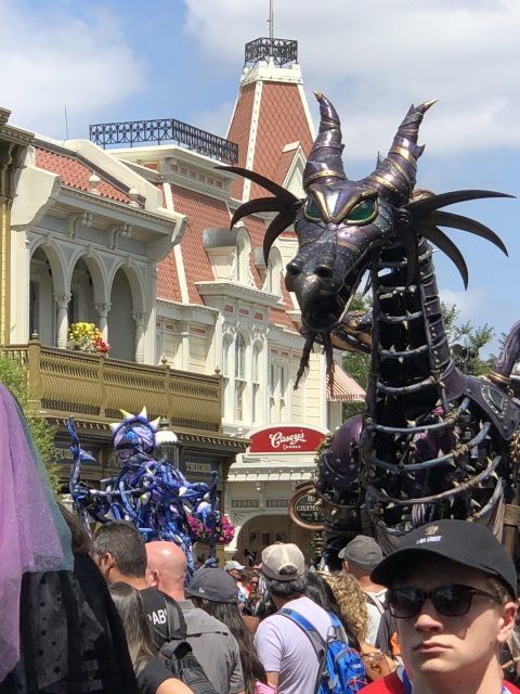 Disney Parade dragon