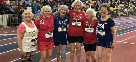 102 year old sprinter