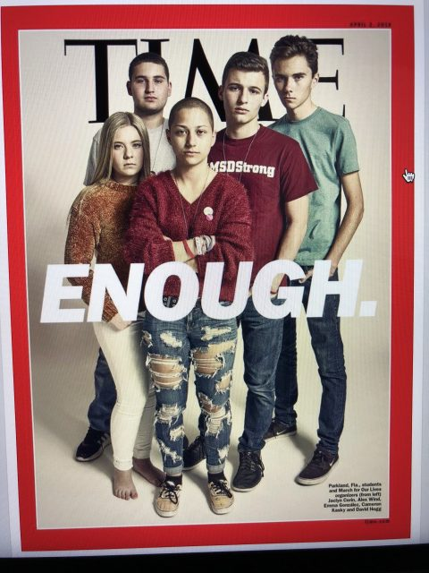 Parkland High students ion Time Magazine