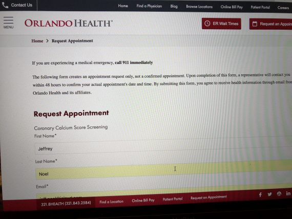 orlando health appointment scheduler
