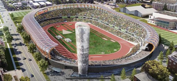 New Hayward Field 2020