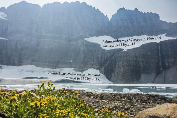 Glacier National Park glaciers