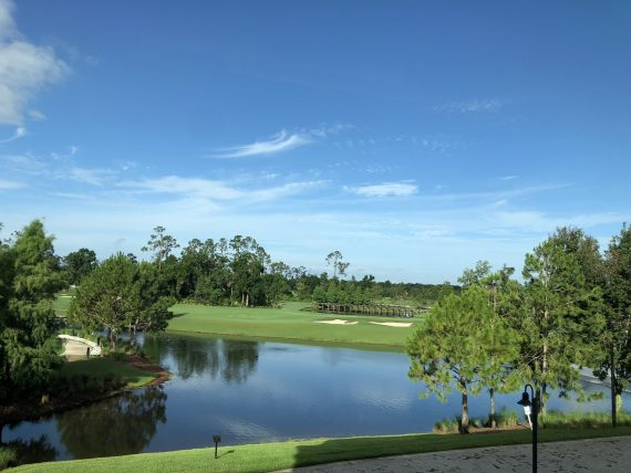 golf course at Disney