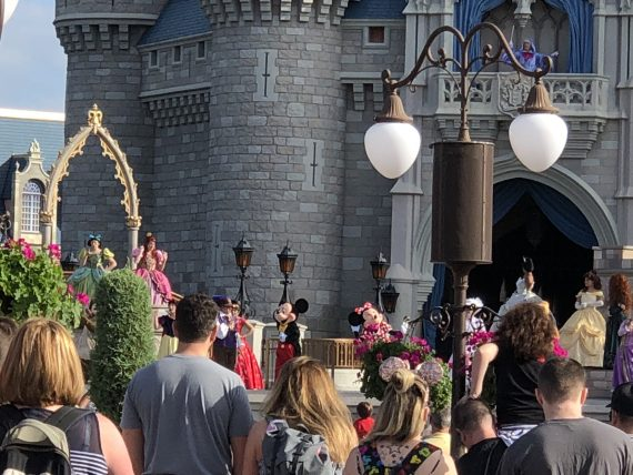 Mickey Mouse Castle Forecourt