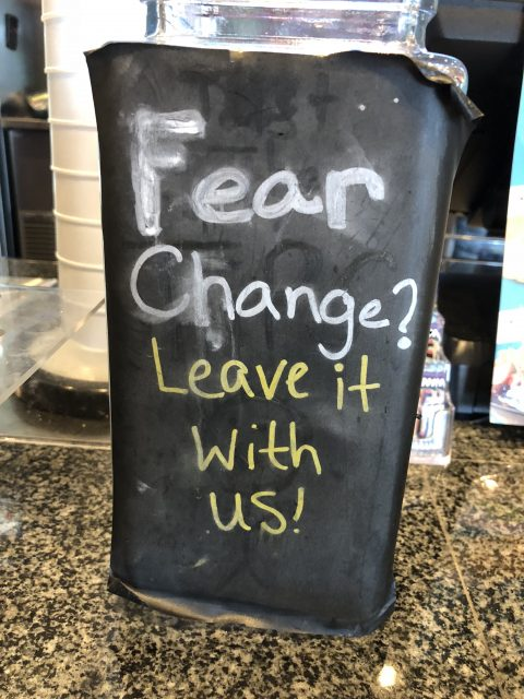 change and fear