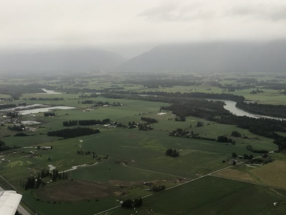 Kalispell aerial view