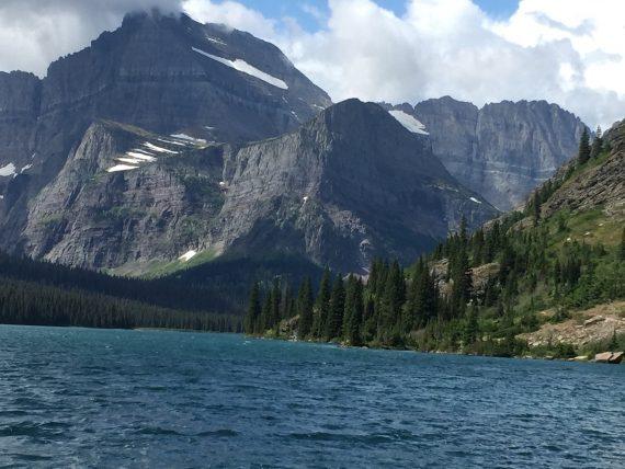 Many Glacier Boat tour