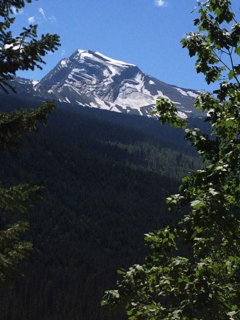Heavens Peak Glacier